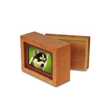 dog casket cat urn wooden pet coffin