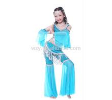 Fashion Bead Tassel Belly Dance Costume for Kids