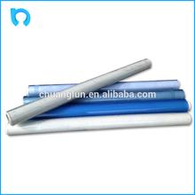 blue solid plastic transparent film normal or super clear