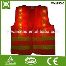 led light safety vest