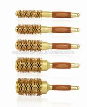 boar bristle hair brush;rotating hairbrush