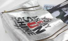High Quality Original Designer genuine silver leather tote bag (stock)