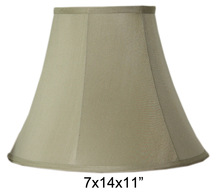 Hot sale light green color fabric lamp shade