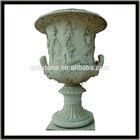 garden stone planter pot