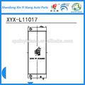 daewoo de maquinaria de construcción radiadores fabricados en china