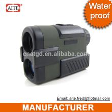 water proof 6*24 500m real target distance Laser Golf rangefinder golf 1 iron