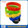 Wrist band usb flash,cheap bracelet usb with logo for gift , USB Bracelets 4gb