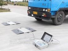 Truck weighing platform electronics