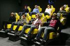 Hot sale 5d cinema/Deep Rose Luxurious chair mini tr
