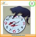 artística reloj de pared de regalos de la promoción de pescado y el perro del reloj