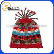 Sunny Shine custom Wool Hat color cute winter Hat beanie beard knitted hats