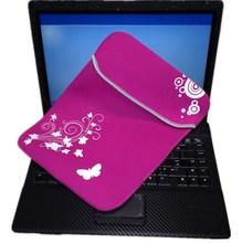 Pink 14 inch waterproof neoprene laptop bag