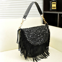woman shoulder designer vintage pu leather celebrity tote bag