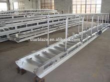 6061 T6 Aluminum gangway ladder pontoon paddle boat