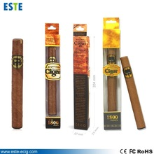 510-t disposable e-cigar 1800puffs blister packing e cigar popular selling