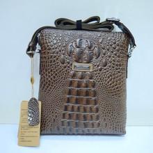 Crocodile men briefcase , genuine leather attach case, fashion portfolio