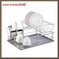 Novo produto fio de metal cozinha escorredor de pratos