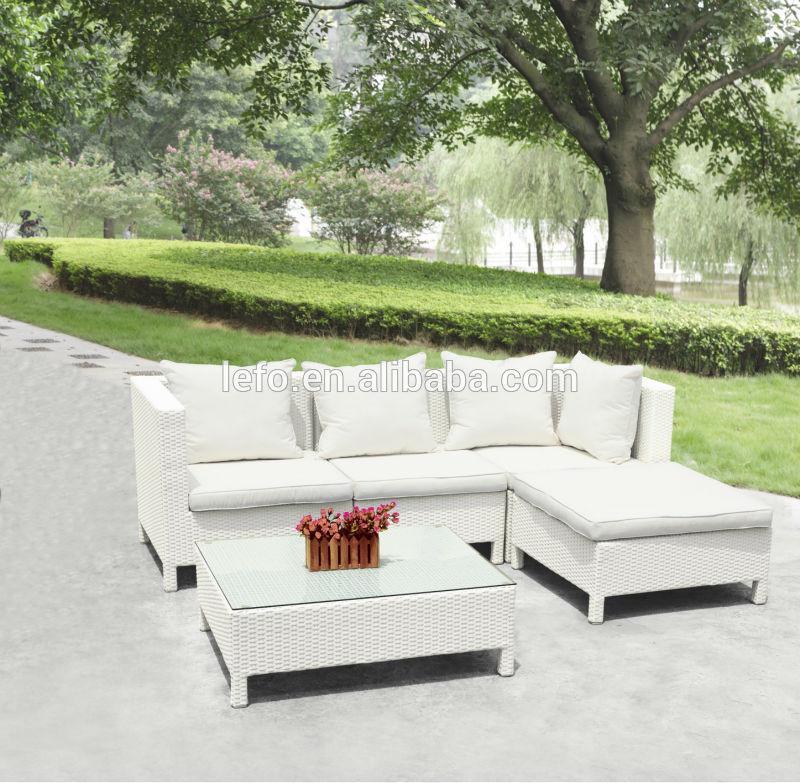Cheap outdoor furniture rattan sofa