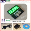 GREEN Mini LED scrolling message sign board/lQuality certification mini led name badge/ed display