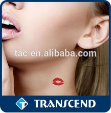 wholesale sexy temporary lip sticker tattoo /custom adults temporary sexy lips tattoos