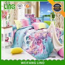 bedroom set model/cushion cover printed patchwork/gold duvet cover