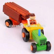 Children's Assembling Wooden Toy Truck
