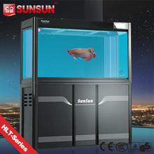 SUNSUN new view fish tank wall hanging fish tank with lights
