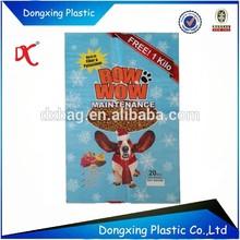 Huge dog food packaging bag/dog feed pp woven bags/plastic dog food 20kg bag