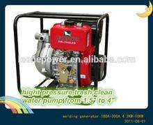 1.5'' diesel water high pressure 4 stroke engine pump