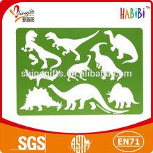 Plastic lovely animal stencil for kids