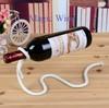Floating Wine Glass Bottle Holder Lasso