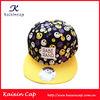 fashion flat brim snapbacks cap blank wholesale floral snap back hats