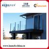 T5 powder coating aluminum glass railing designs aluminium balcony railing
