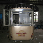 2014 YY-CR300 Shanghai Newly design coffee cart/ Fast food van