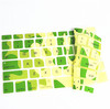 Army Camouflage environment friendly factory price silicone keyboard cover for MacBook Pro