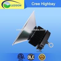 5yrs warranty CREE DLC ETL listed 150w led high bay light PMMA reflector