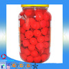 2015 China canned red sour cherry with standard packing boxes