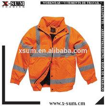 Orange Reflective Softshell Jacket Hi Vis