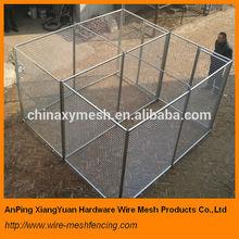 Huge Hot dipped Galvanized/PVC coated dog kennel/dog case for big dog (factory&exporter)