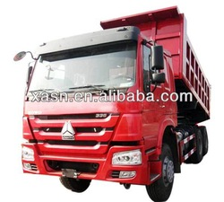 Made in China to provide right cockpit HOWO 6x4 hydraulic dump truck sales