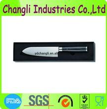 Elegant Japanese damascus santoku knife