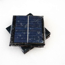 Eco-friendly pv module 1W polycrystalline mini solar panel small pv module made in China