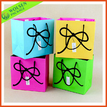 Fashion design promotion gift paper bags for christmas