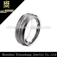 ingrosso produttore mens tungsteno celtica anello