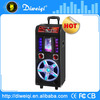 Home decorative portable dvd player built-in speakers