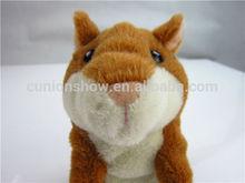 pet teddy bear hamsters talk back toy SHANGHAI XIN AN PLUSH TOYS
