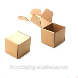 Wholesale High Quality Small Cardboard Shipping Box Custom Logo