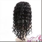 grade AAAAAAA best quality virgin brazilian middle part deep wave lace front wig