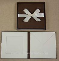 supreme quality dvd case custom made CD folio dvd presentation box
