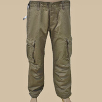 Man's trousers with side pockets fashion men cargo pants/casual pants